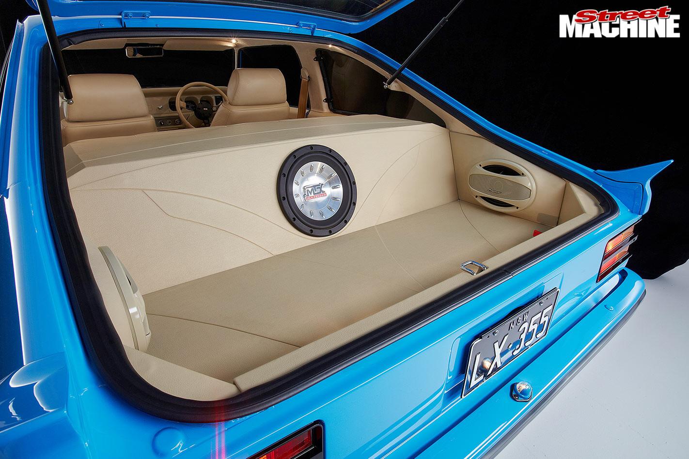 Holden Torana LX boot