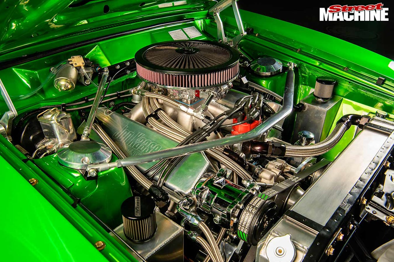 Ford Falcon XA coupe engine bay