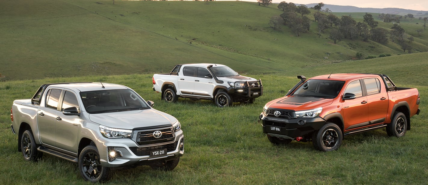 Hilux Rogue Rugged and Rugged X range nw