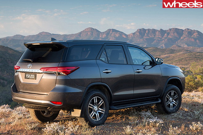 Toyota -Fortuner -rear -parked -on -mountain