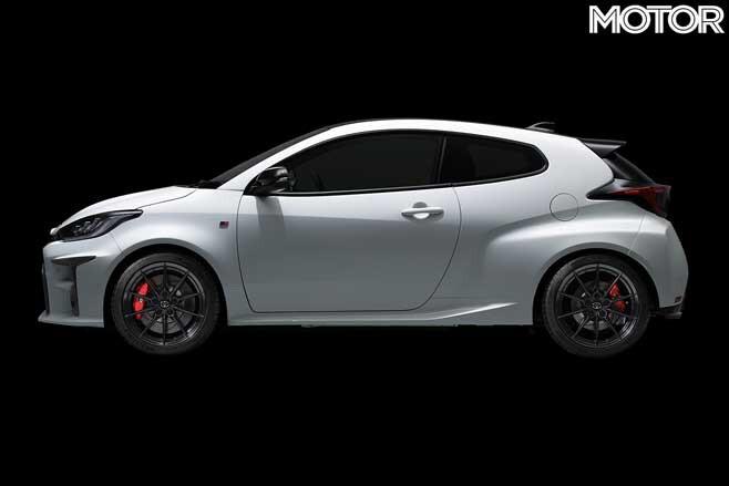 Toyota GR Yaris Side Jpg