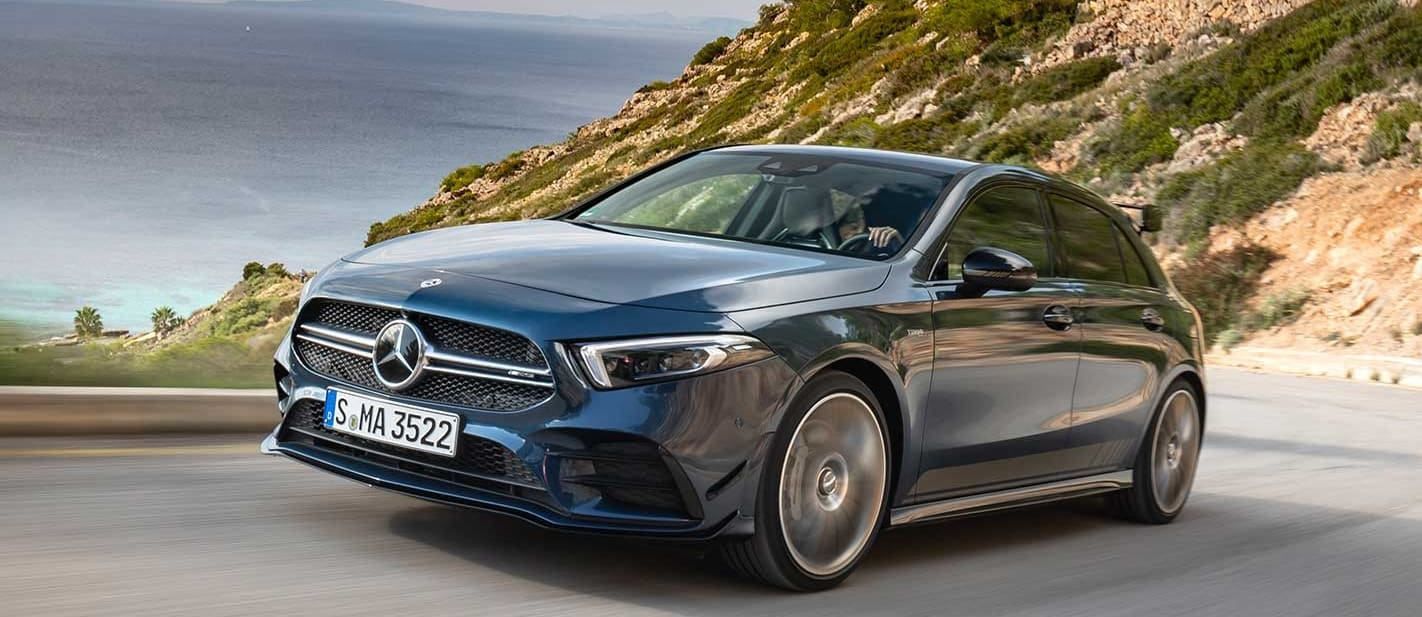 2019 Mercedes-AMG A35 performance review first drive