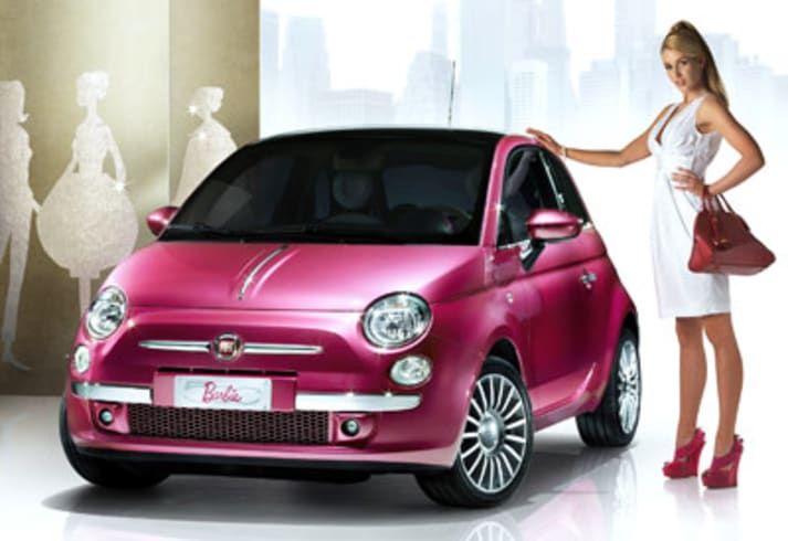 Barbie gets a Beetle and a 500 for her 50th