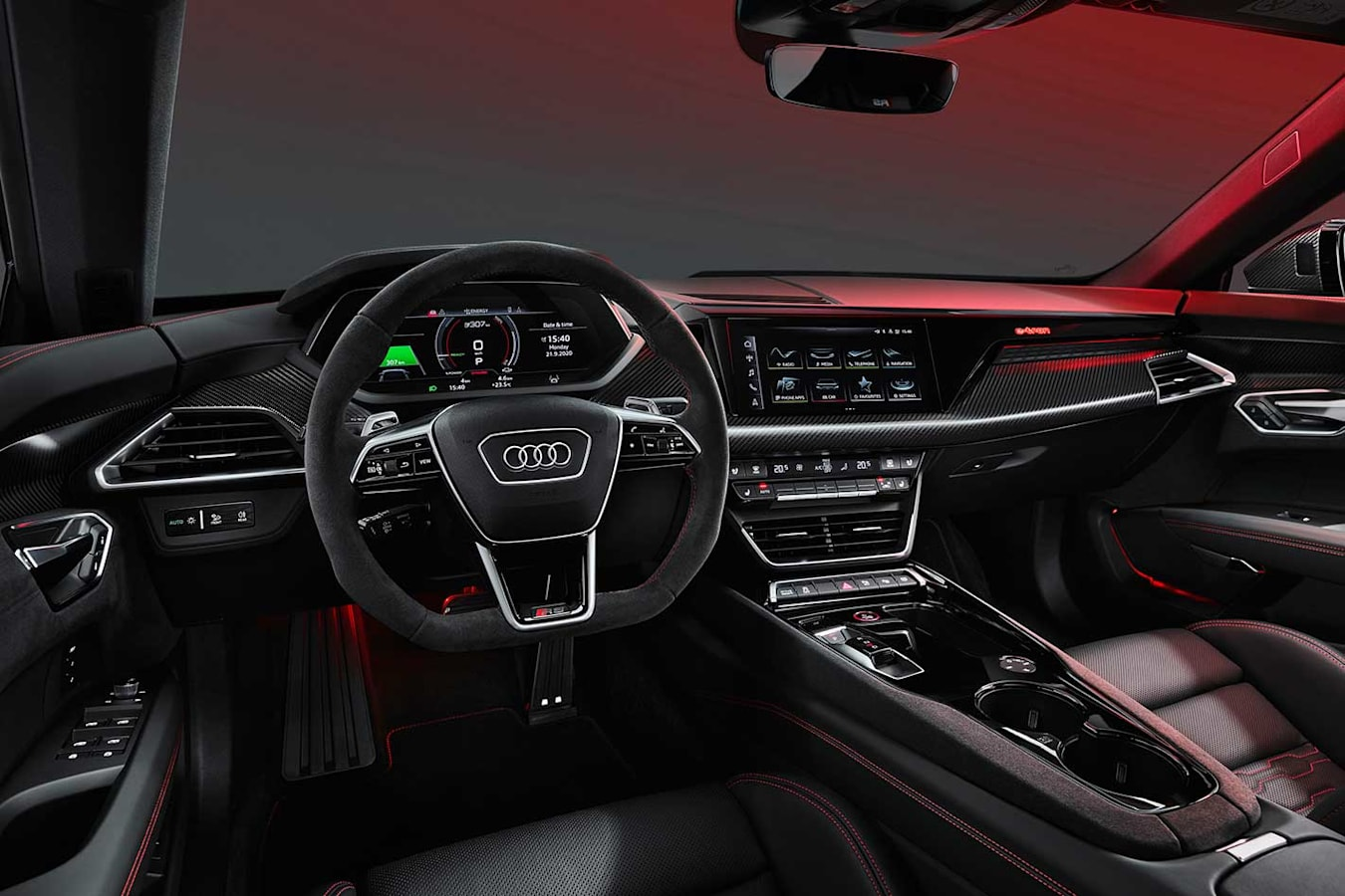 Audi E-Tron GT officially revealed