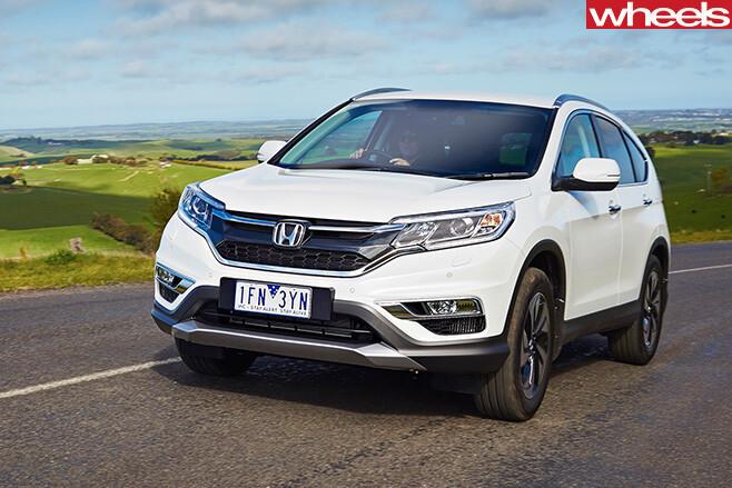 Honda CR-V SUV Front