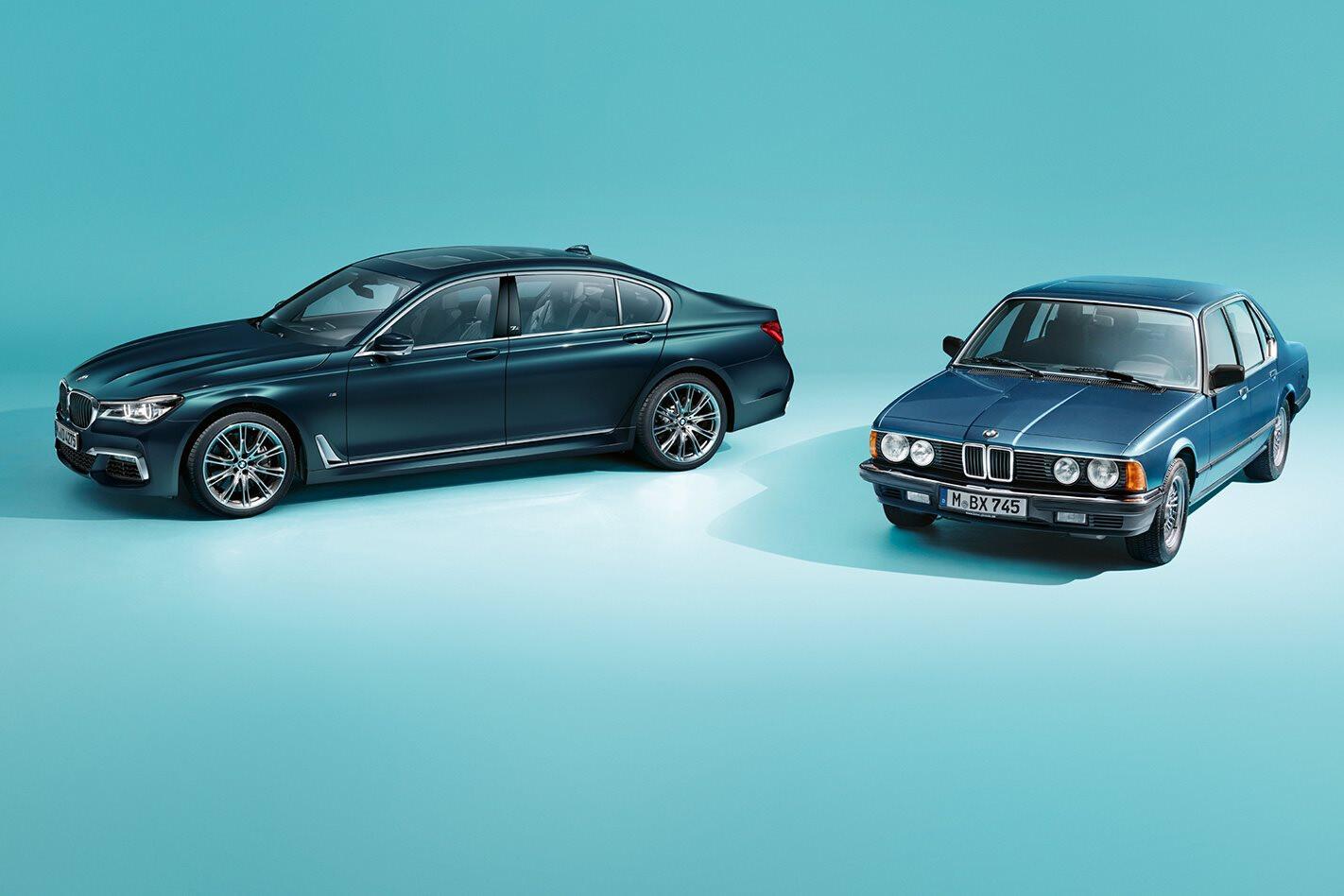 BMW 7 Series celebrates 40 years