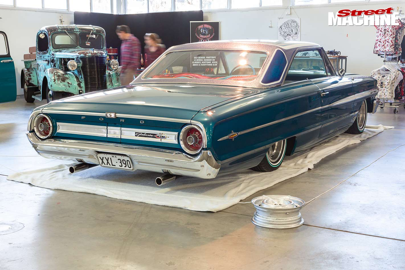 Ford Galaxie at WA Hot Rod Spectacular