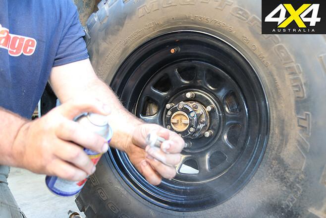 41 Install Wheel Nuts