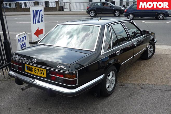 Opel senator rear