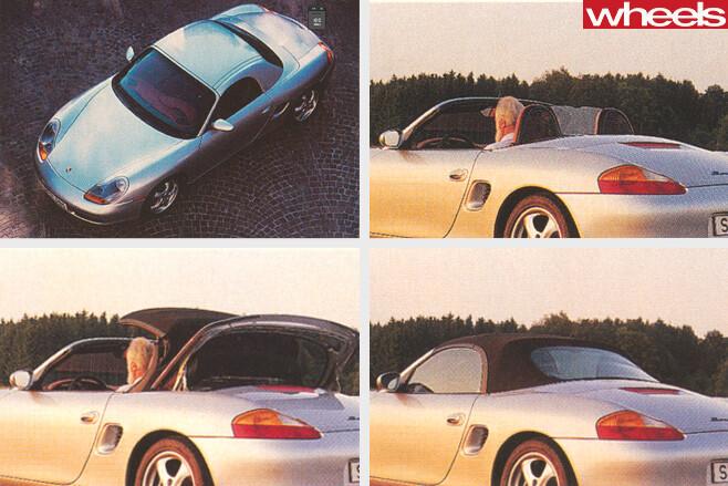 1996-Porsche -Boxster -986-convertible -roof
