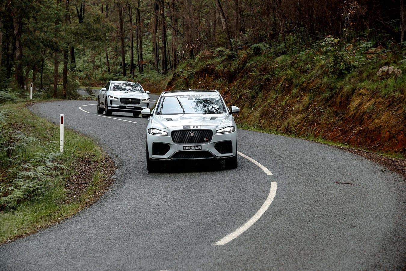 Jaguar F-Pace Targa High Country