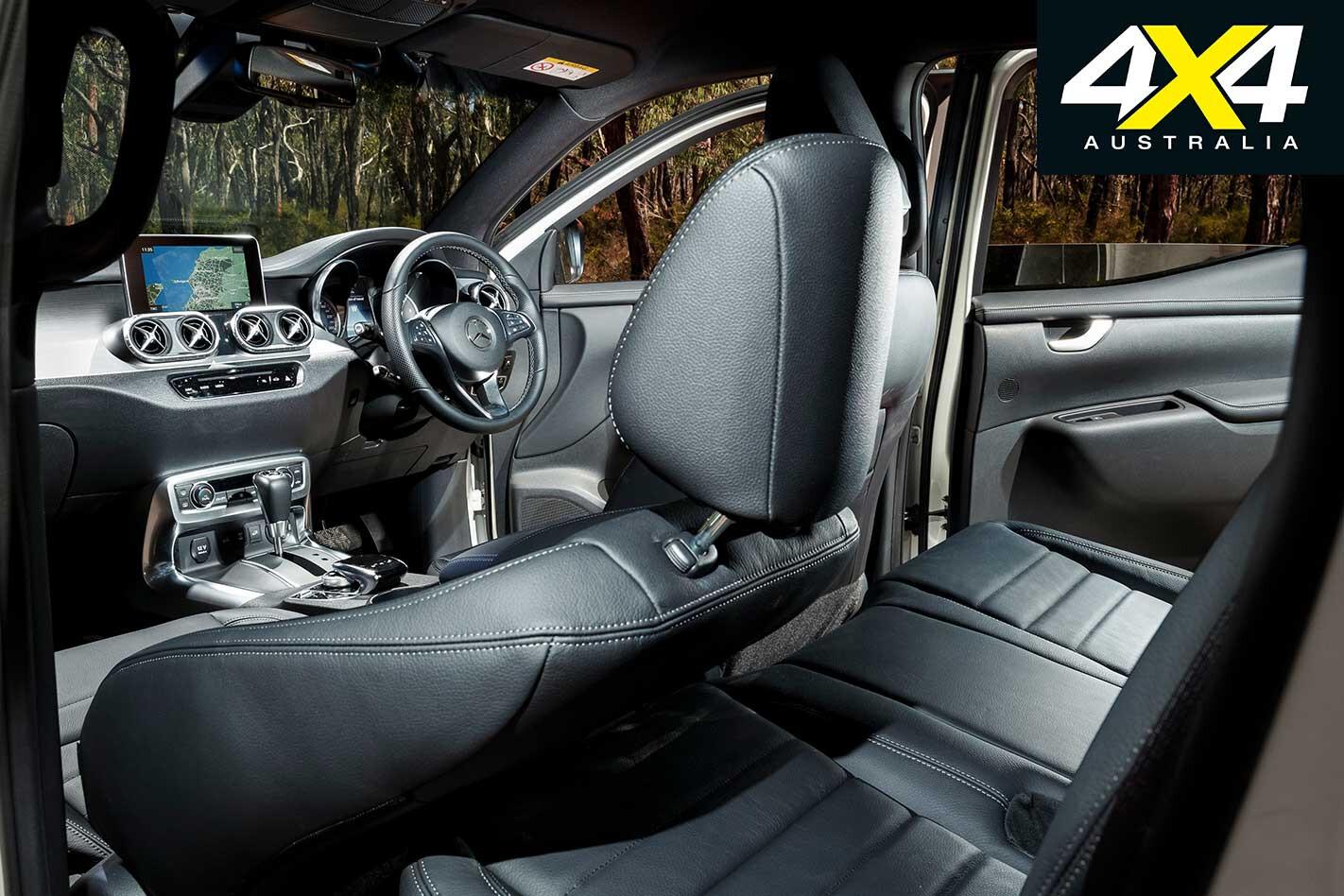 2019 Mercedes Benz X 350 D Interior Jpg