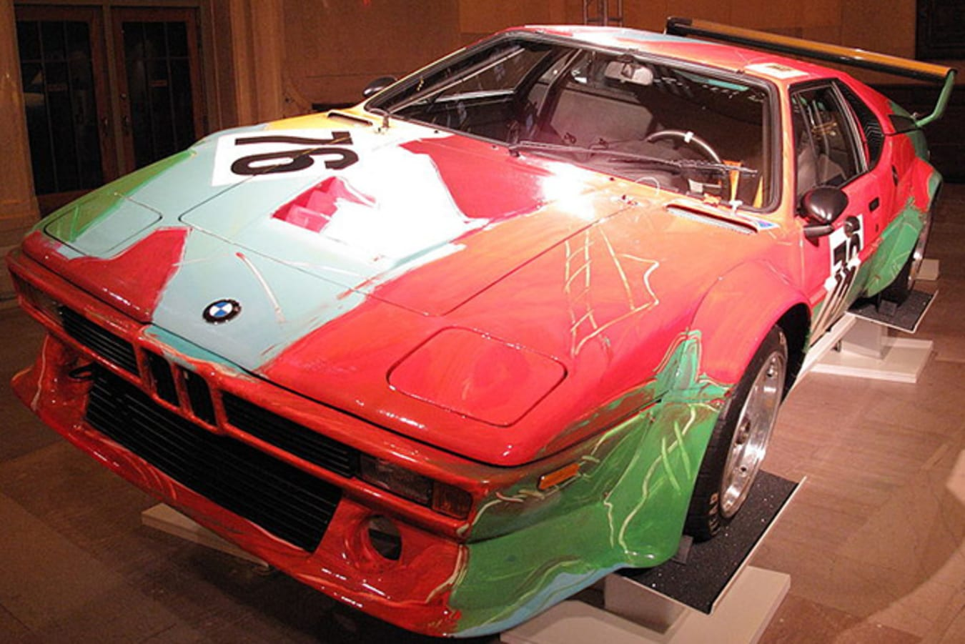 1979 BMW M1 Group 4 by Andy Warhol