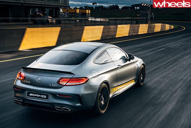 Mercedes -AMG-C63-rear -side