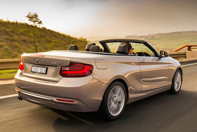 BMW 220i Convertible