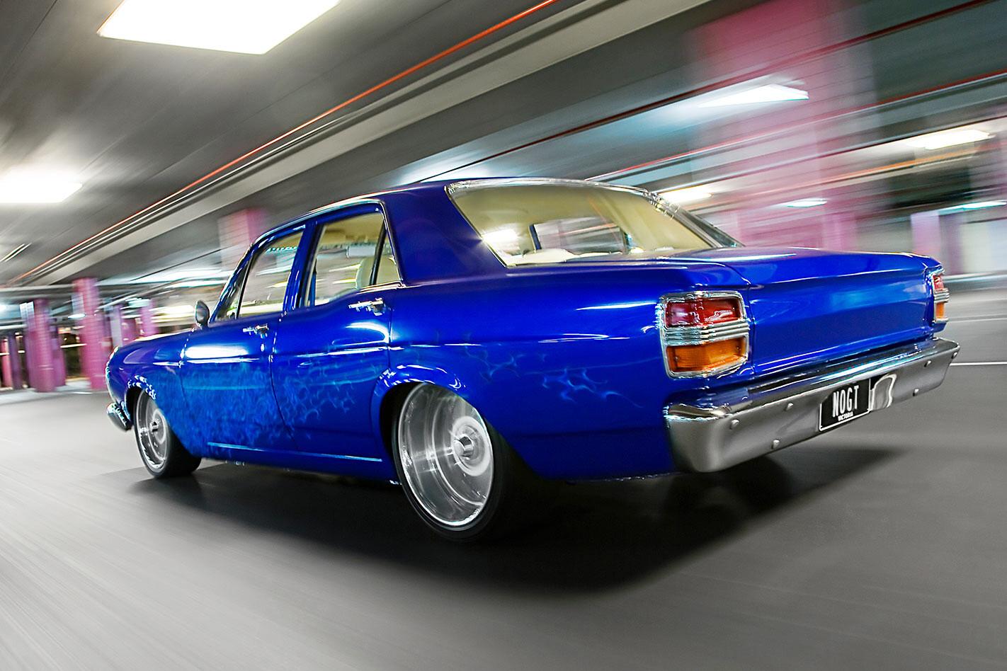 Ford XY Falcon rear