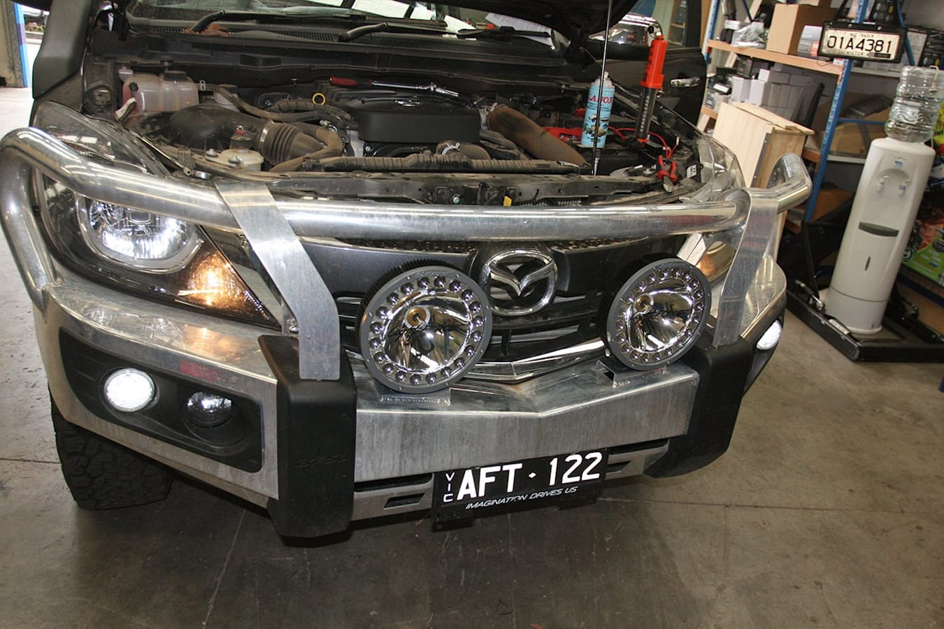 Lights Fitted To Mazda BT 50 Main Jpg