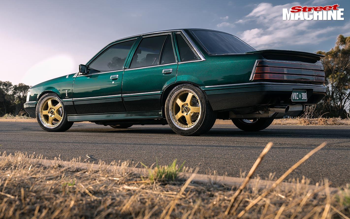 Holden VK Calais rear angle