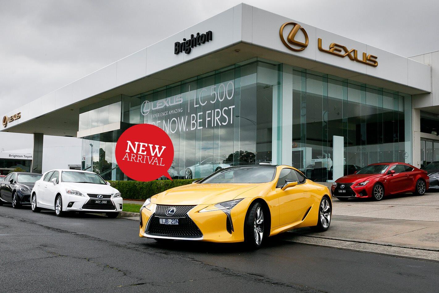 2017 Lexus LC500