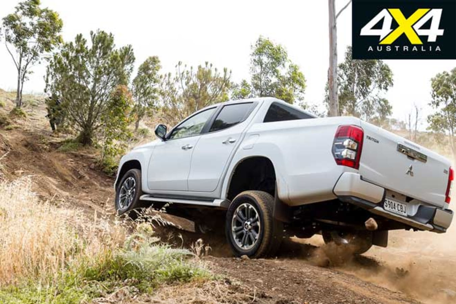 2020 4 X 4 Of The Year Mitsubishi Triton GLS Hill Climb Jpg