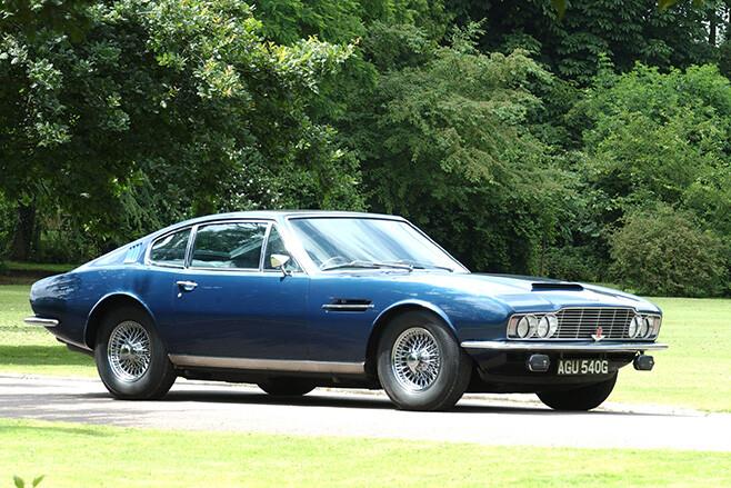 1969-1972 Aston Martin DBS