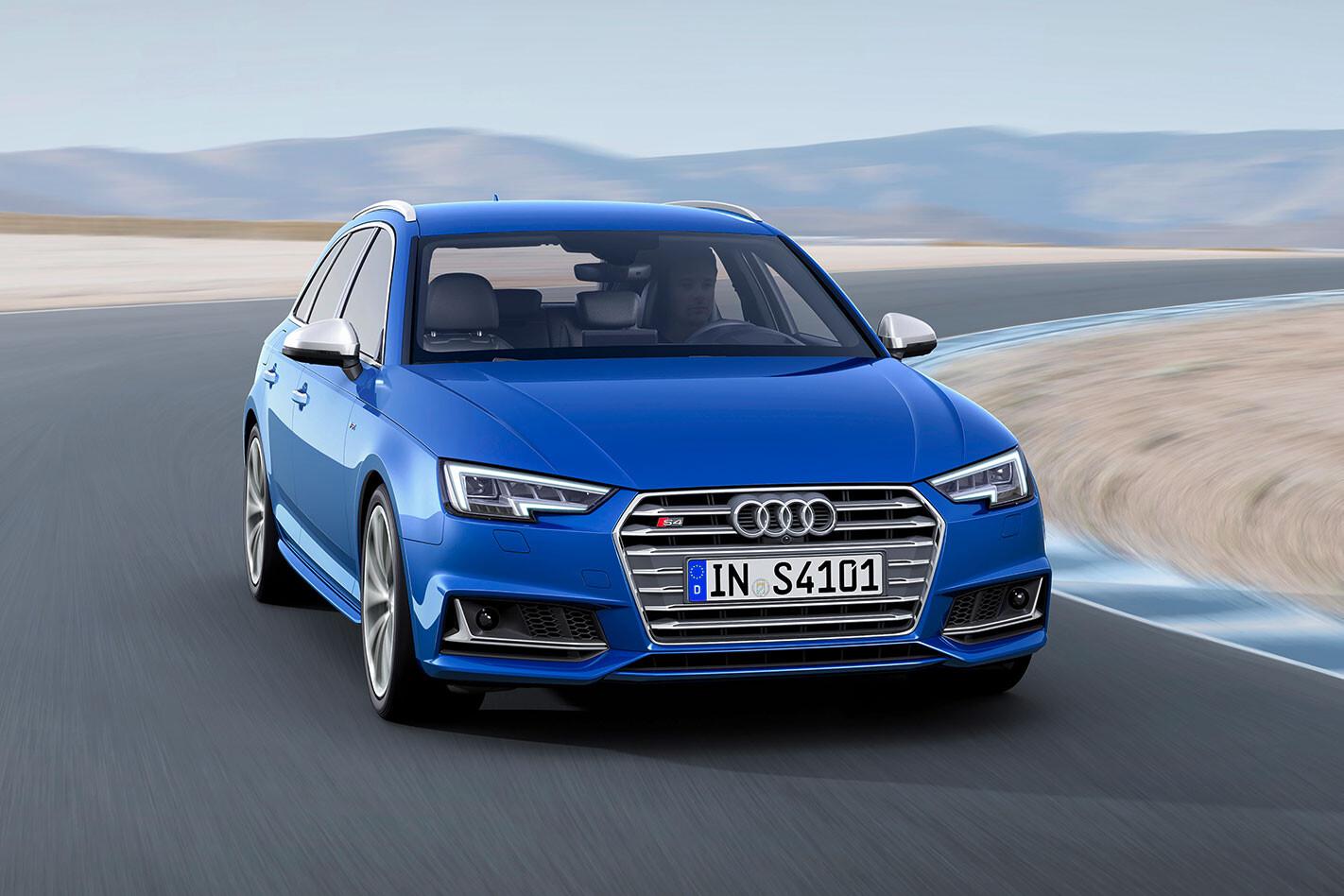 Audi -S4-Avant -action