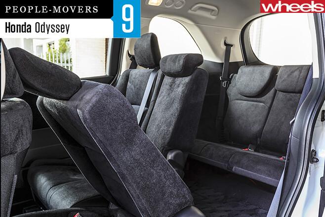 Honda -Odyssey -rear -seats