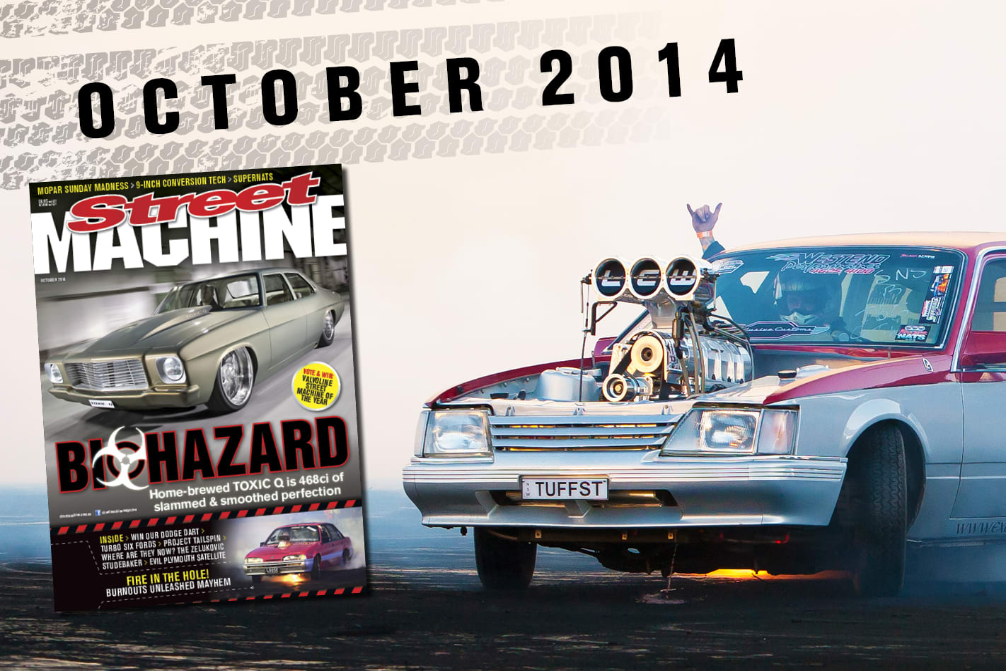 Street Machine October 2014