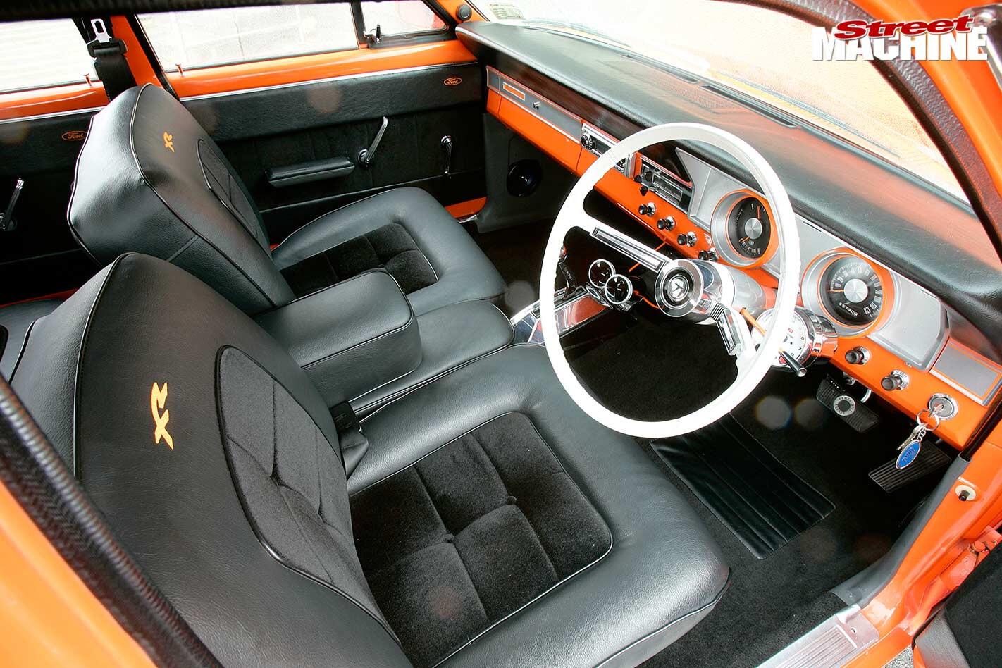 Ford XR Falcon interior