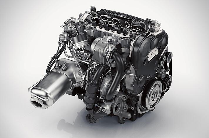 2018 Volvo XC60 diesel engine