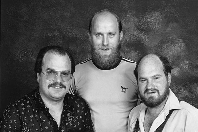 Roger Brown, John Van Den Eynden & Tony Brown