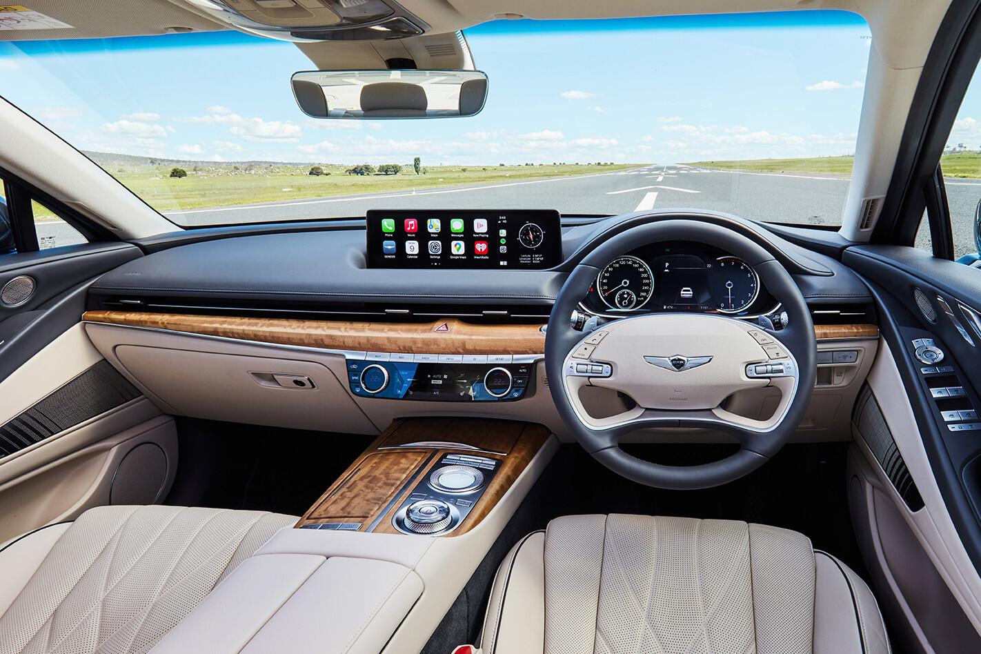 Genesis G80 2.5T interior