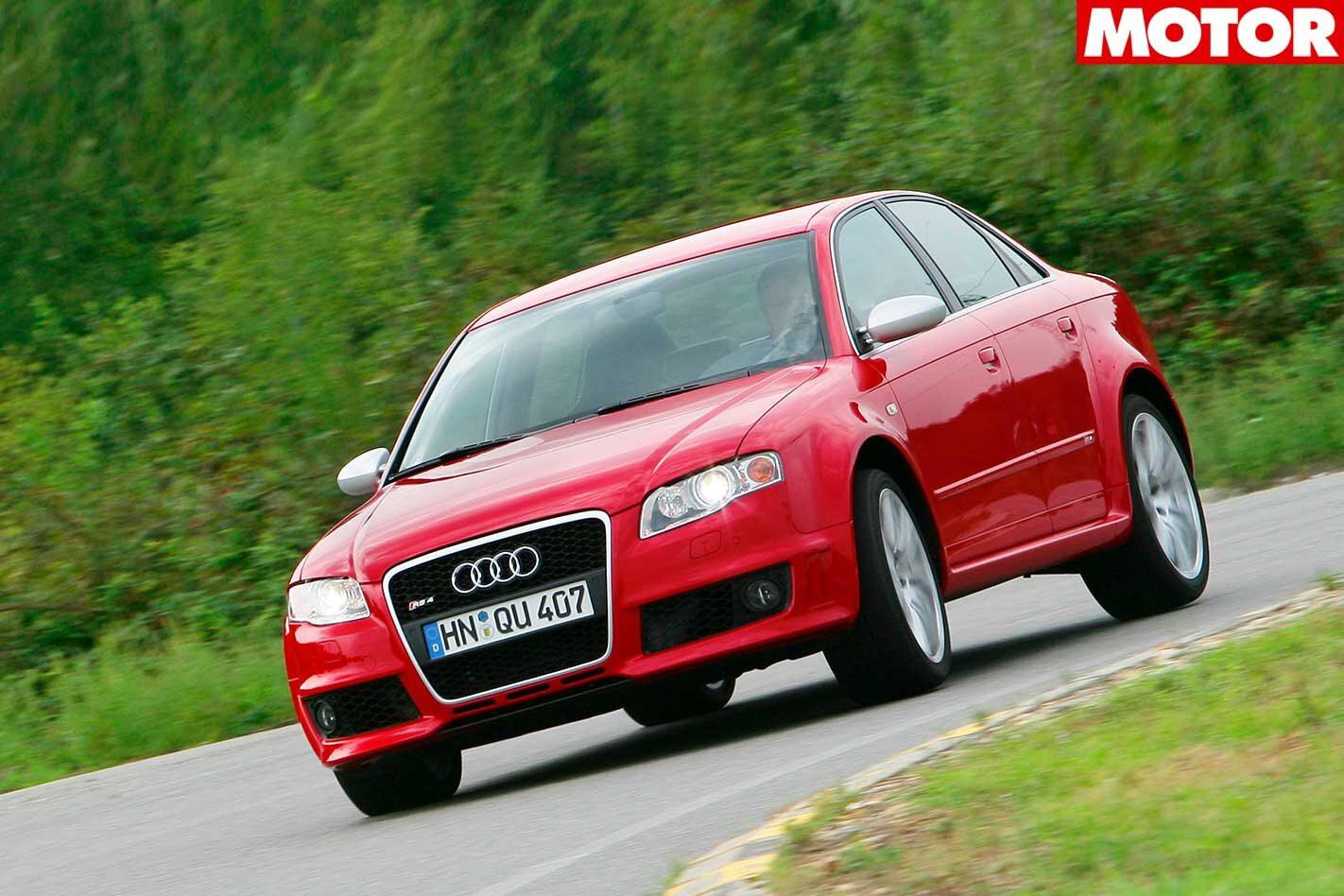 2006 Audi RS4 review classic MOTOR