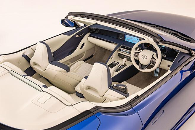 2021 Lexus LC Convertible Interior Jpg