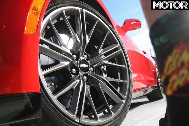Chevrolet Camaro ZL 1 Wheel Jpg
