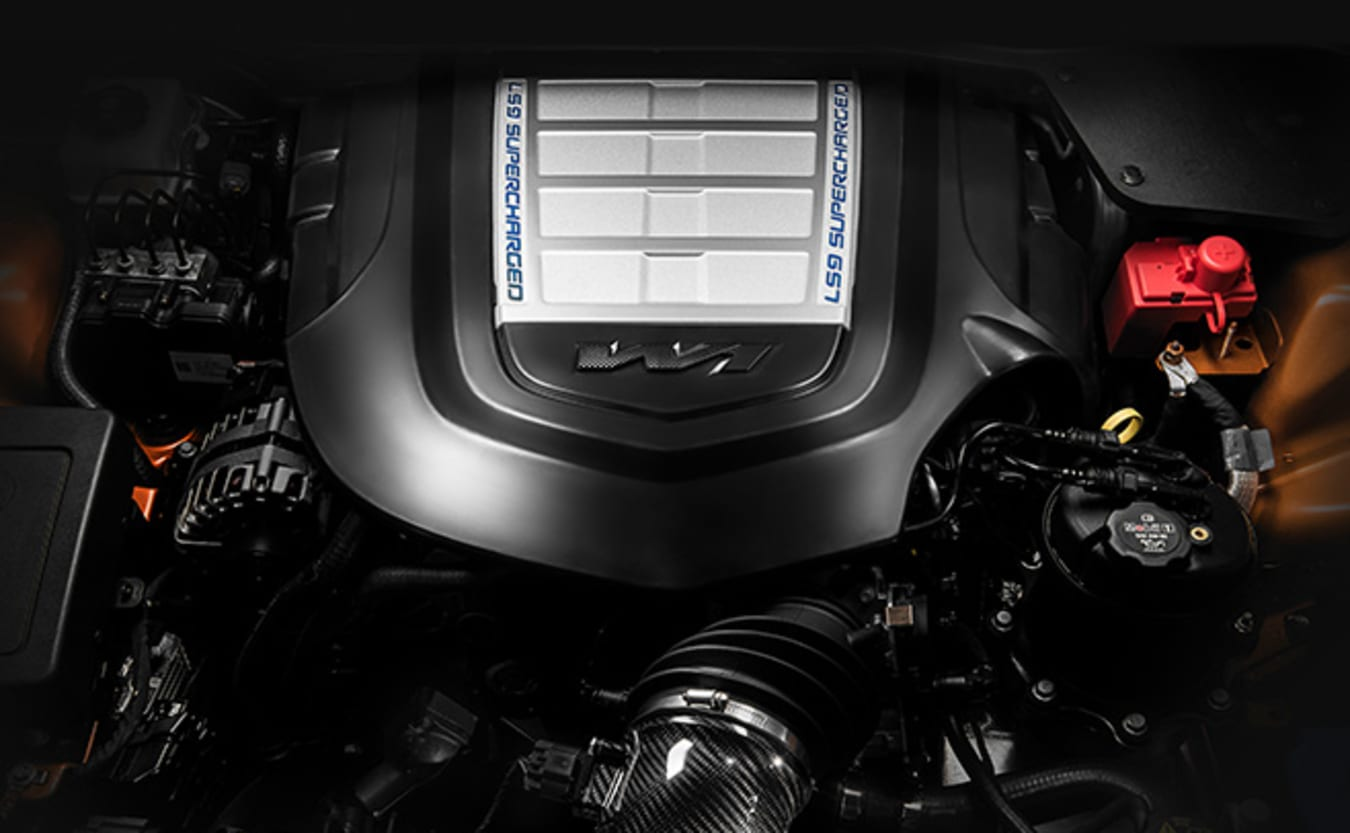 The LS9 V8 produces 474kW/815Nm