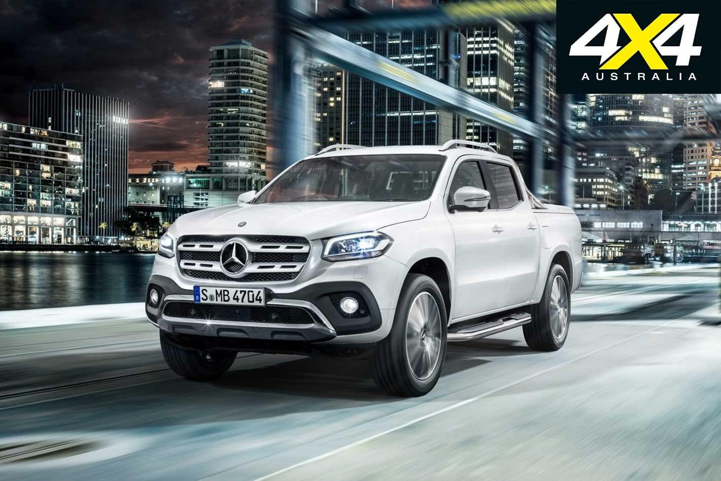 2018 Mercedes Benz X Class gets AEB as standard news