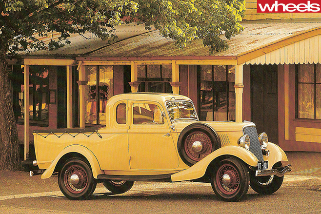 1935-Lew -Bandt -Ford -Coupe -Ute