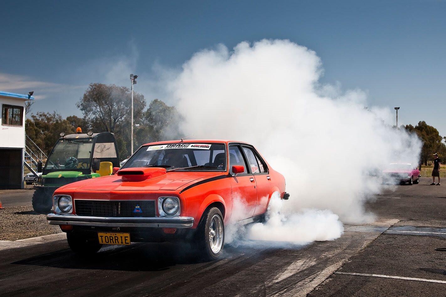 Holden Torana Drag Challenge