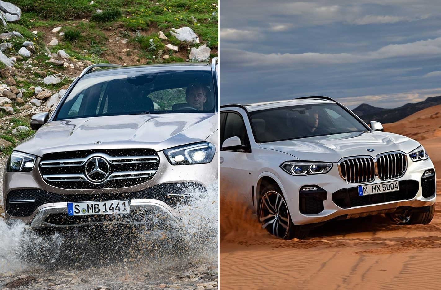 German luxury SUVs think about getting dirty