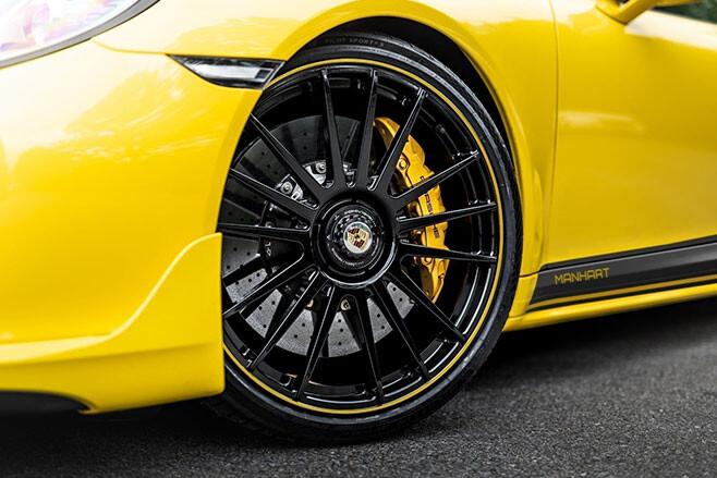 Manhart TR 850 Porsche 911 wheels