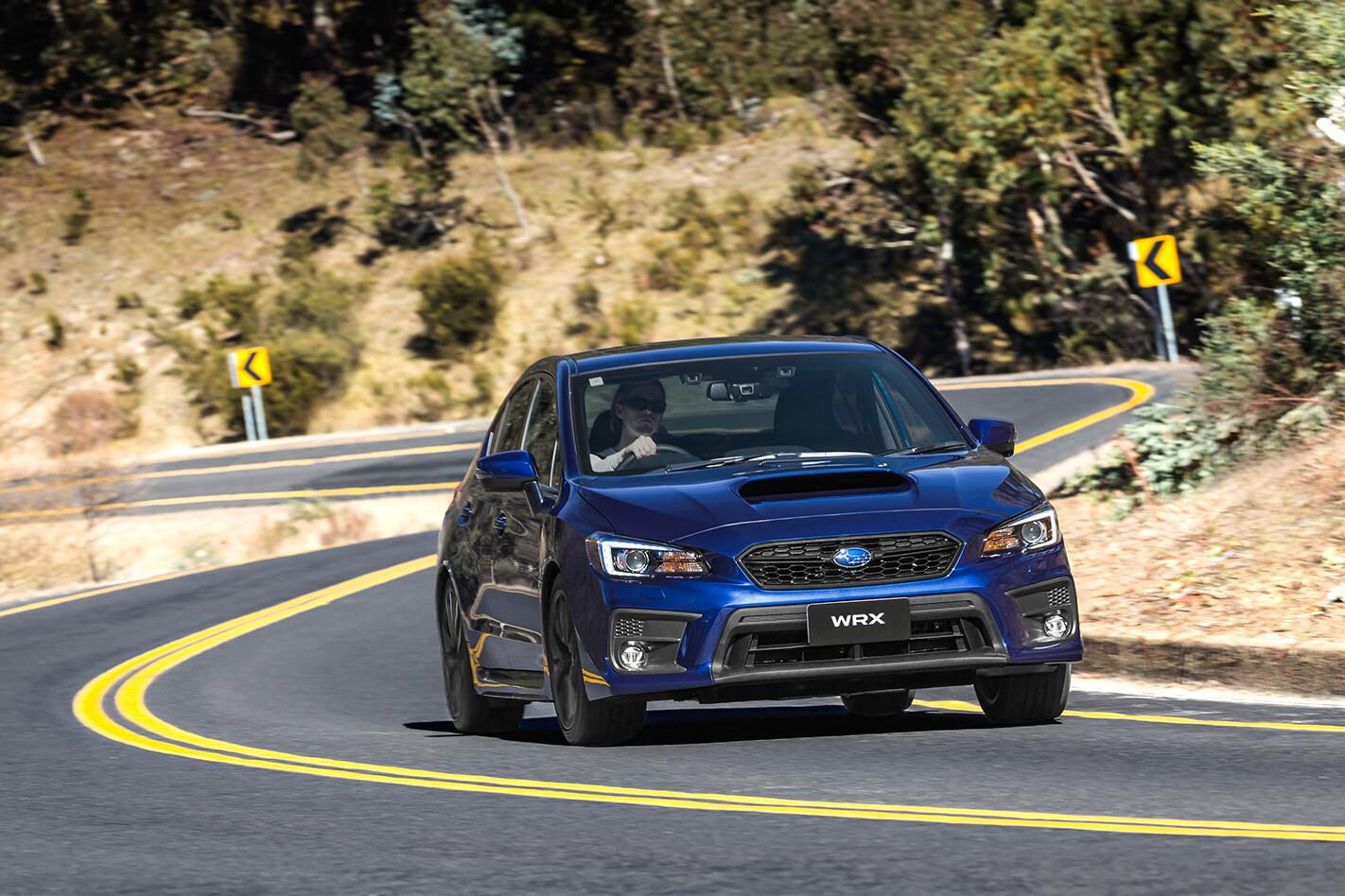 Subaru Wrx Front Quarter Action Jpg