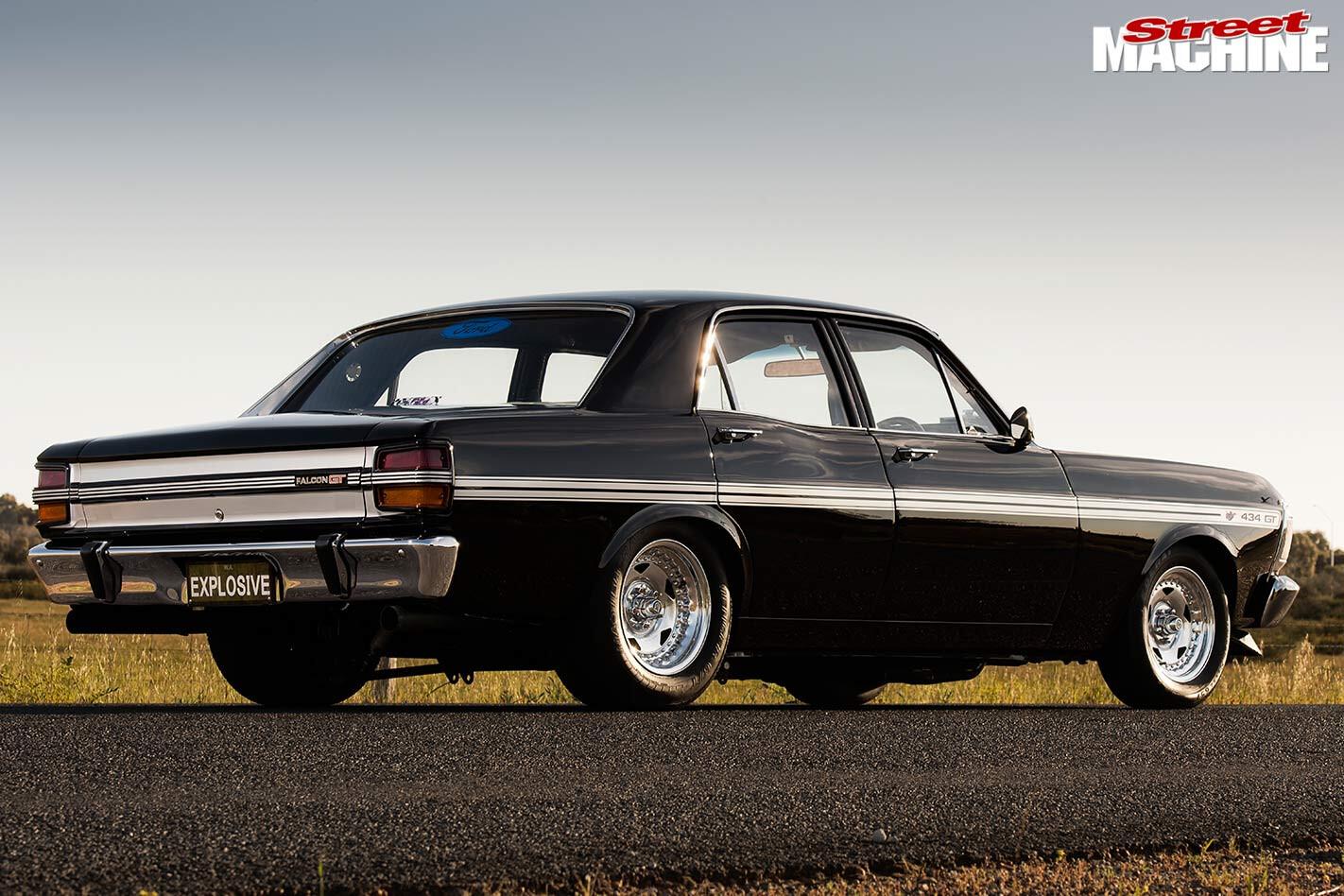 Ford XY Fairmont rear