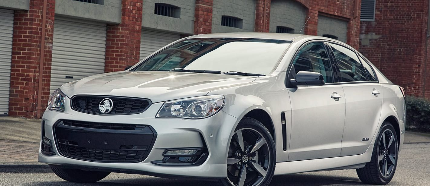 Holden Commodore Black Edition Front Jpg
