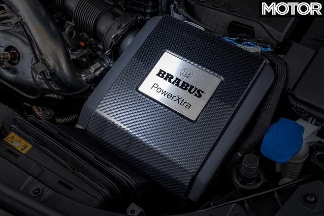Brabus B 35 S Engine Bay Badge Jpg