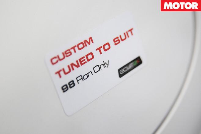 98 RON fuel
