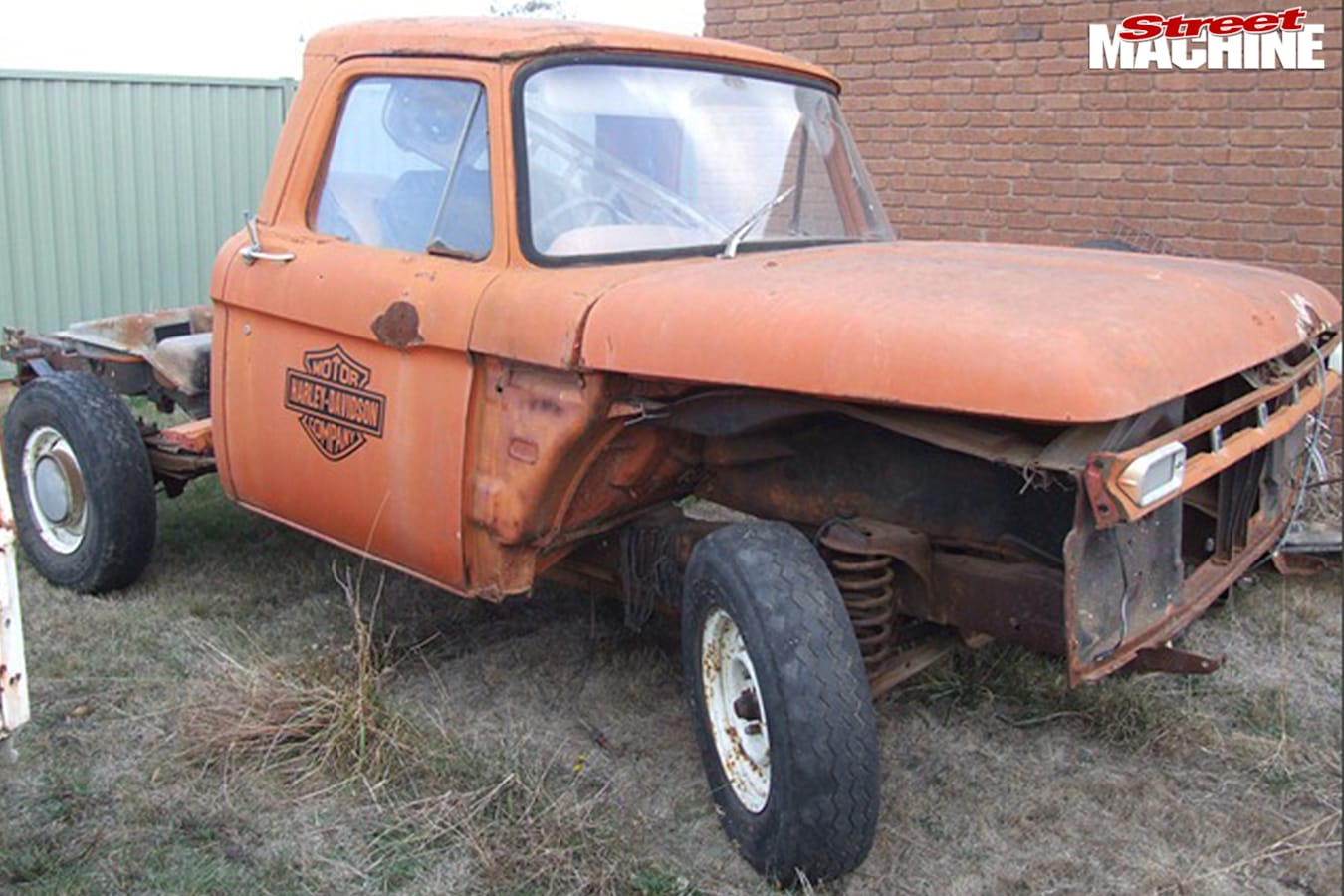 Ford -f 100-before
