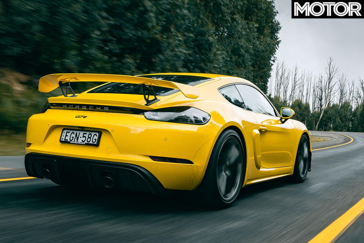 2020 Porsche Cayman GT4 onroad