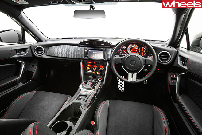 Toyota -86-interior