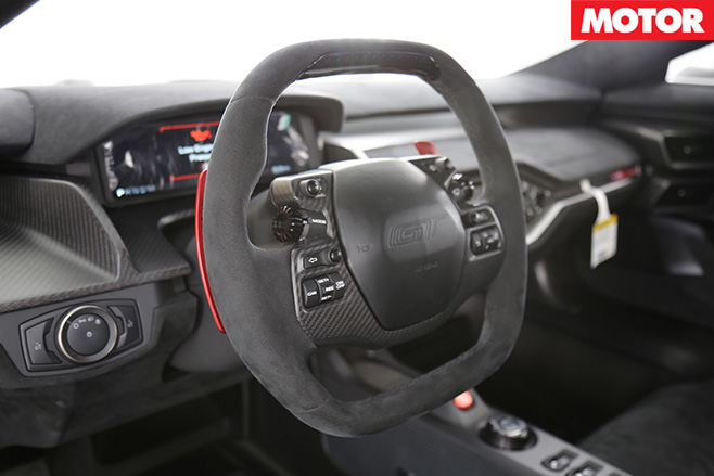 Ford GT Competition Series interior